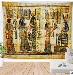 Africa-Ancient Egypt Wall Tapestry | Egypt Style Wall Hanging Home - Office - Living Room - Bedroom Decor