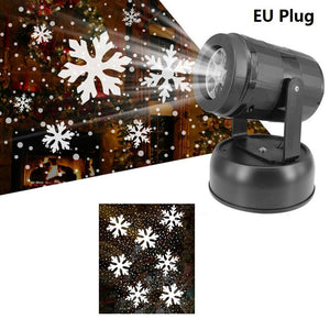 Christmas 12 Patterns Led Projector
