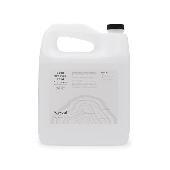 Hand Sanitizer: 4 L (refill style)