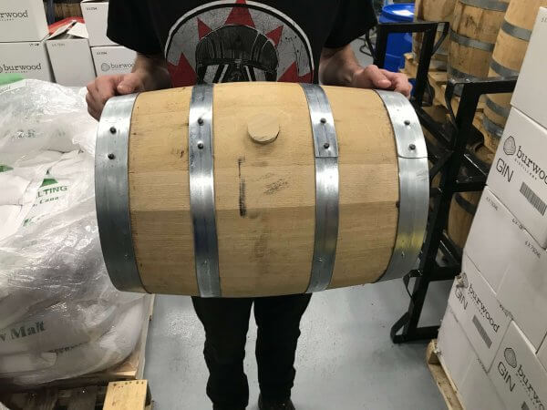 5 gallon whisky barrel
