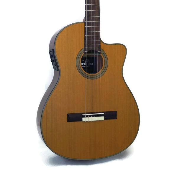Cordoba Fusion 12 Natural CD Nylon Classical Acoustic-Electric Guitar