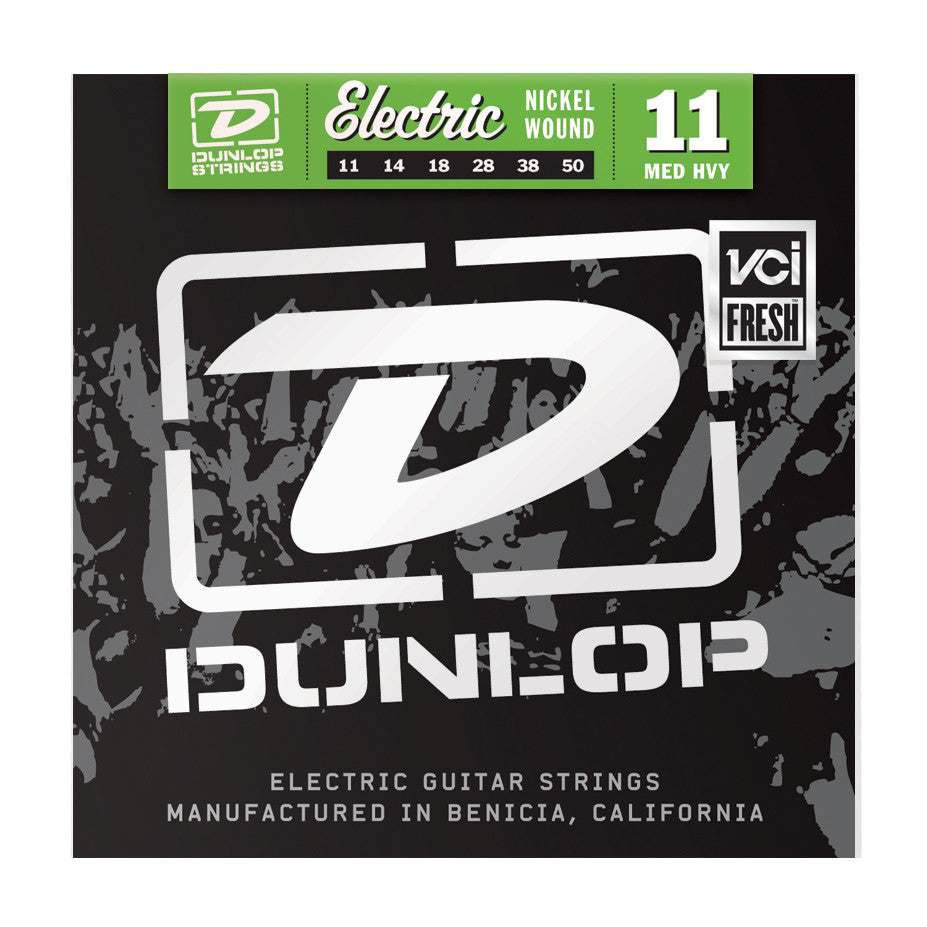 Dunlop DEN1150 11-50 Nickel Wound Medium Heavy Electric Guitar Strings - 3 Pack