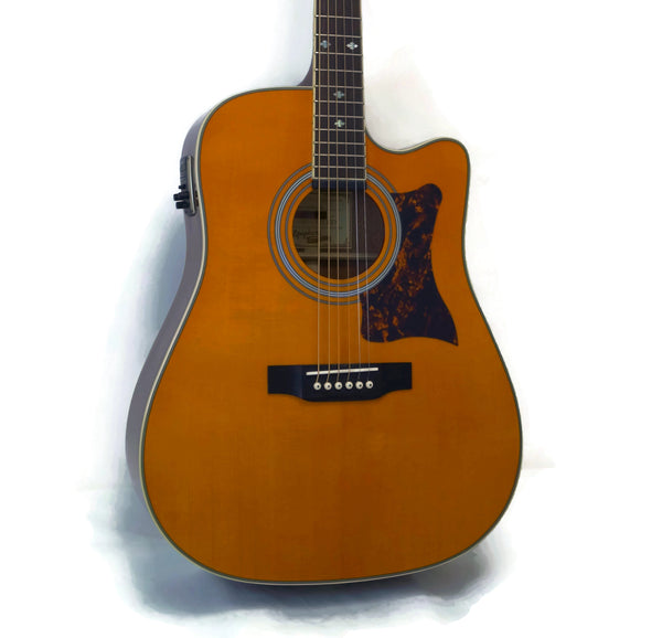 Epiphone DR-500MCE Masterbilt Dreadnought Acoustic-Electric Guitar