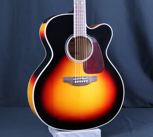 Takamine CJ72CE Acoustic-Electric Guitar, Brown Sunburst Gloss Finish