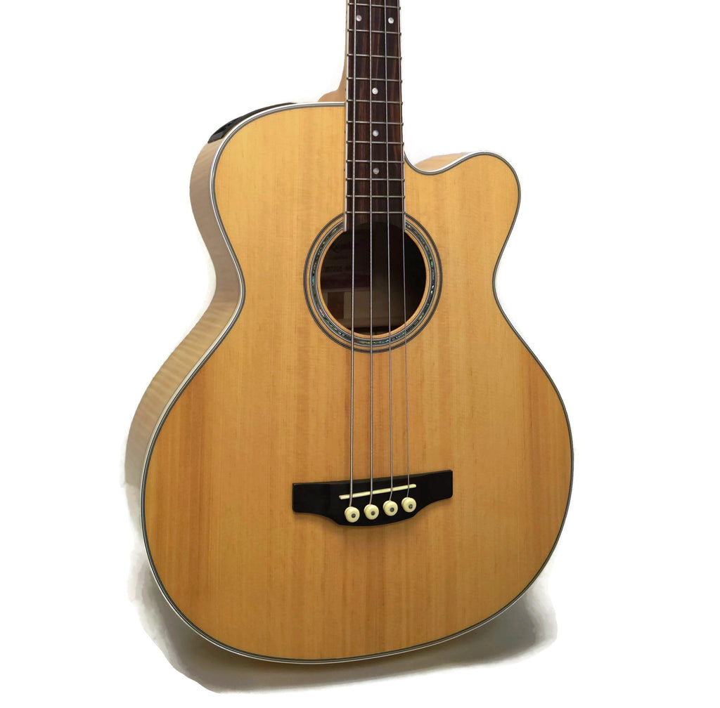 Takamine GB72CE-NAT G Series Jumbo Cutaway Acoustic-Electric Bass