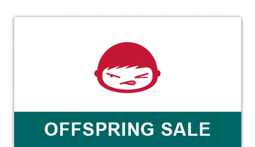 You will be redirect to Offspring's sale section