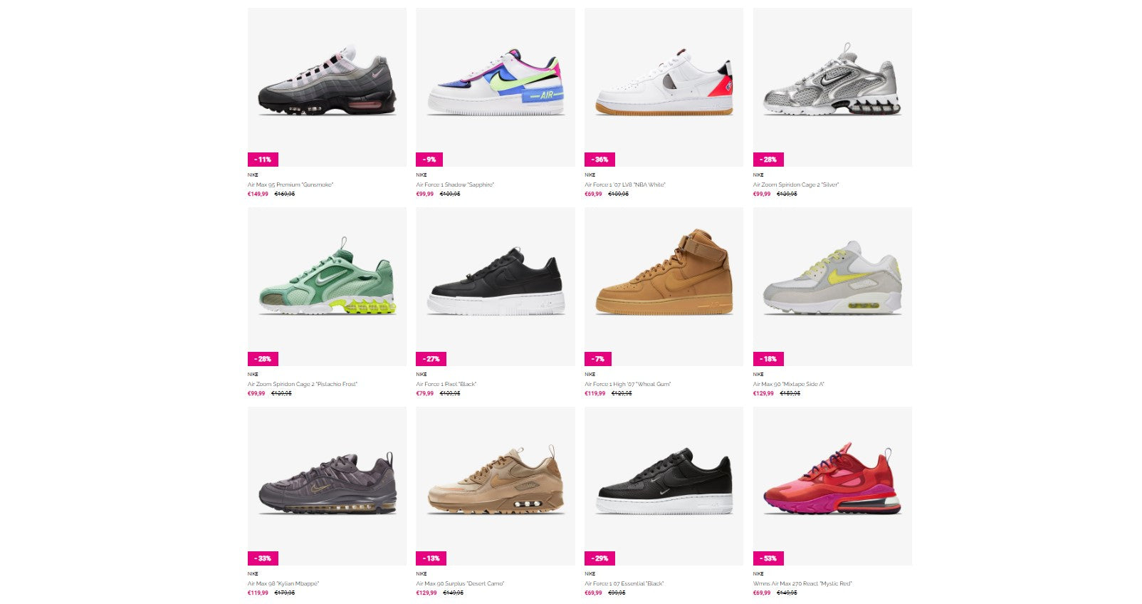 You will be redirect to SneakersNStuff's sale section