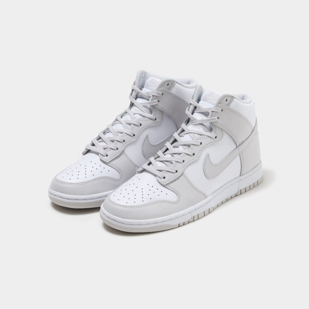 GS Nike Dunk High Retro White Vast Grey