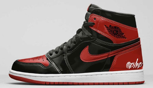 "Air Jordan 1 High OG ""Bred Patent"""
