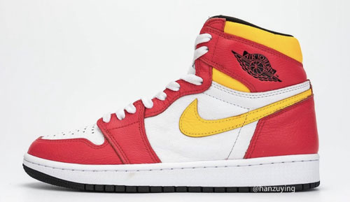 "Air Jordan 1 High OG ""Light Fusion Red"""