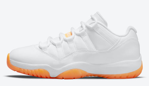 "Air Jordan 11 Low WMNS ""Citrus"""