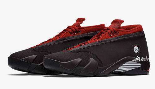 "Air Jordan 14 Low WMNS ""Gym Red"""