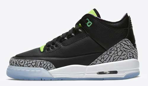 "Air Jordan 3 Kids ""Electric Green"""