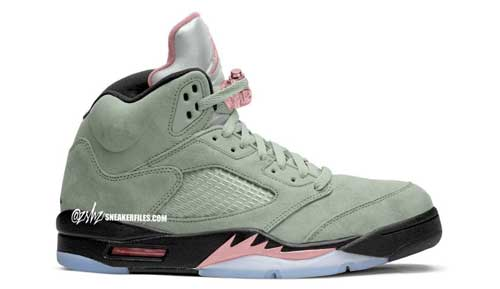 "Air Jordan 5 ""Jade Horizon"""