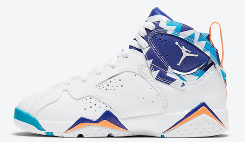 "Air Jordan 7 GS ""Chlorine Blue"""