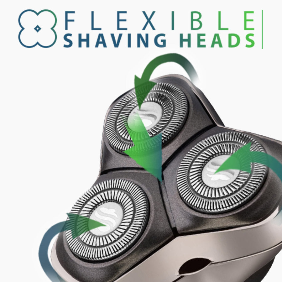 palm shaver and nose hair trimmer