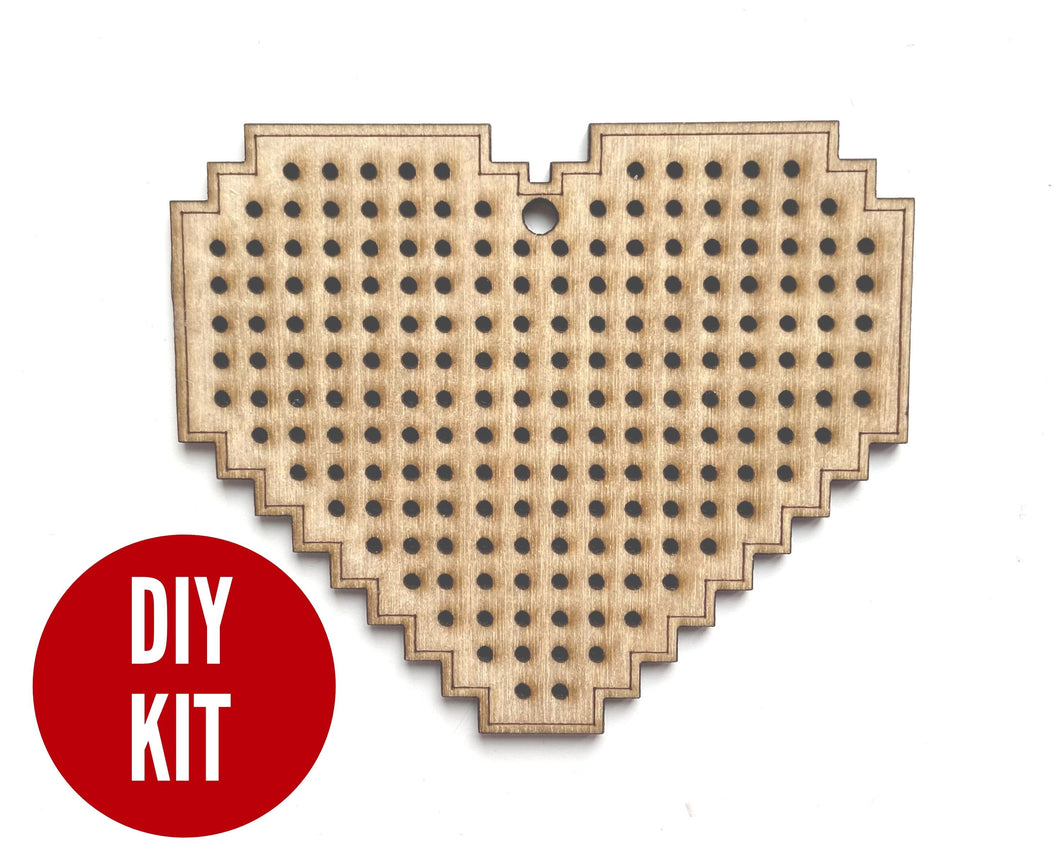 Design-your-own heart kit