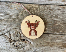 Load image into Gallery viewer, Baby reindeer ornament kit