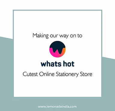 making our way on to whats hot - cutest online stationery store