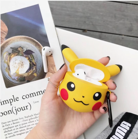 AirPods Case - Yellow Pikachu