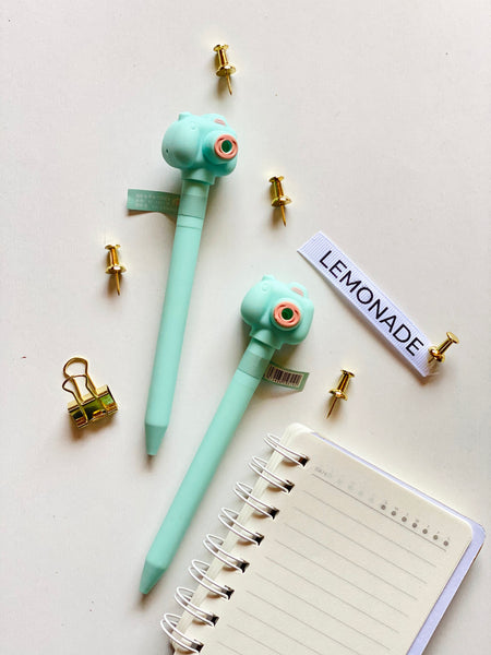 Fun Camera Pen with Flash Sound-Description: Whether crossing off your to-do list or jotting in your journal, our lightweight + colourful and quirky pens from Lemonade come in handy for all purposes. Additional Information: Black Ink Sold Individually.-Default Tittle-LemonadeIndia