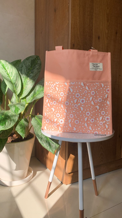 Canvas Floral Bag