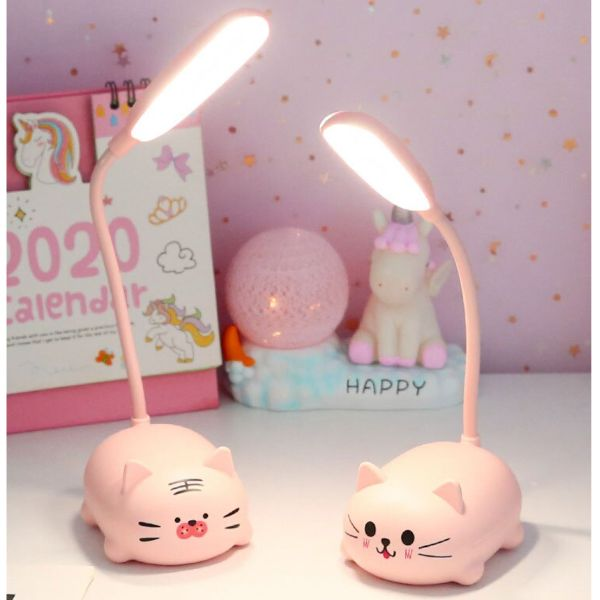 Cute Table Lamp with USB cable