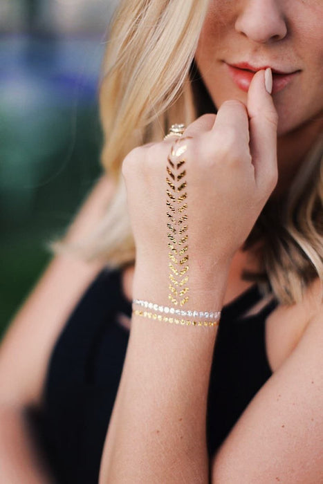 Golden Flash Tattoos