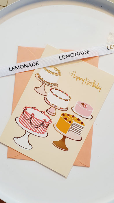 Greeting Cards - Happy Birthday - Set of 5 - Assorted