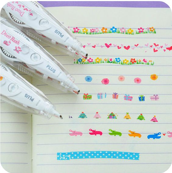Decoration/Correction Tapes - Black Cat-Description: An adorable correction tape with cute animal prints that can also be used for scrapbooks and projects. This cute tape marker from Lemonade is a fun way to add more colour to your books. Sold Individually.-Default Tittle-LemonadeIndia