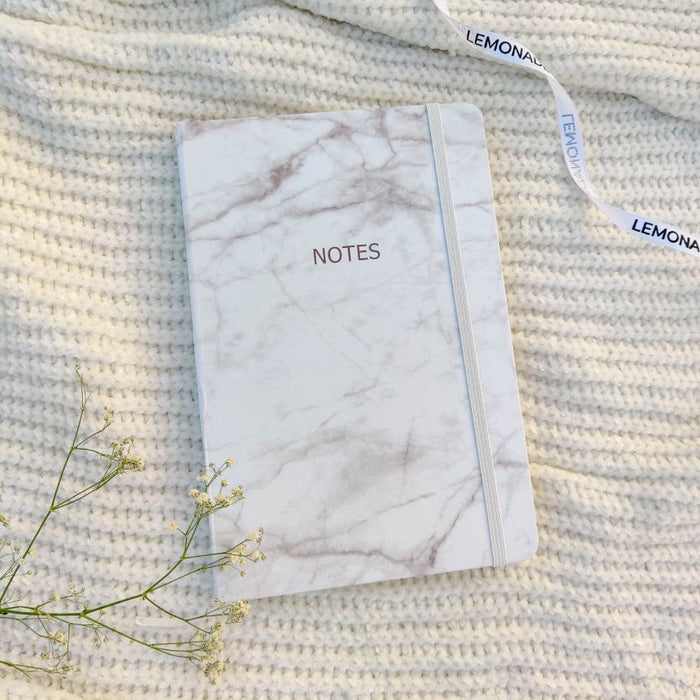 Notebook Marble Printed - Notes