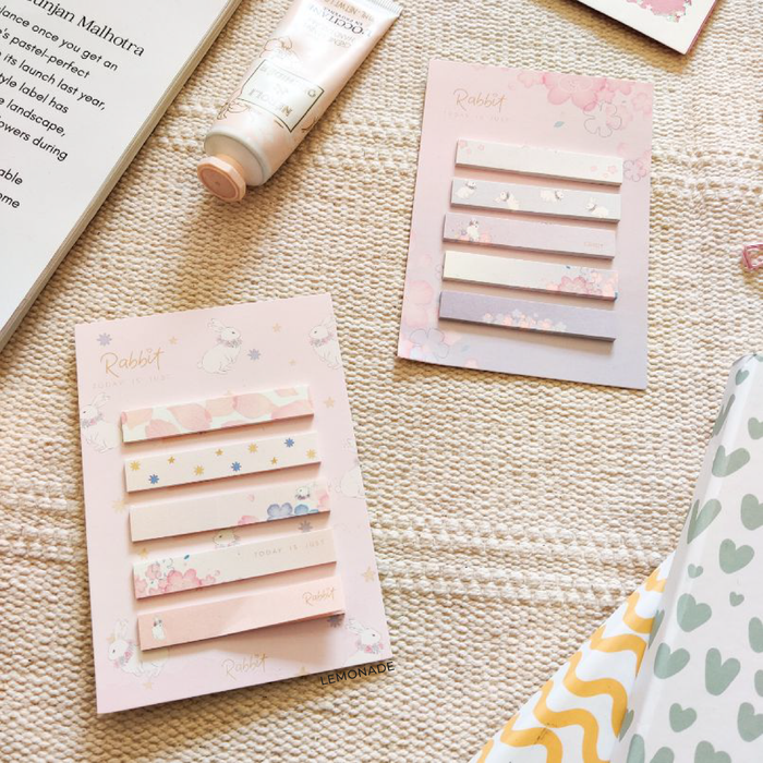 Pastel Bookmark Sticky Strips