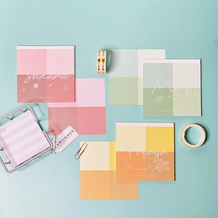 Post It's - Colour Palette