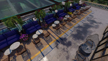 Load image into Gallery viewer, Agora Restaurant Terrace
