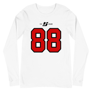 Name ☓ Number LS Tee - YYC White