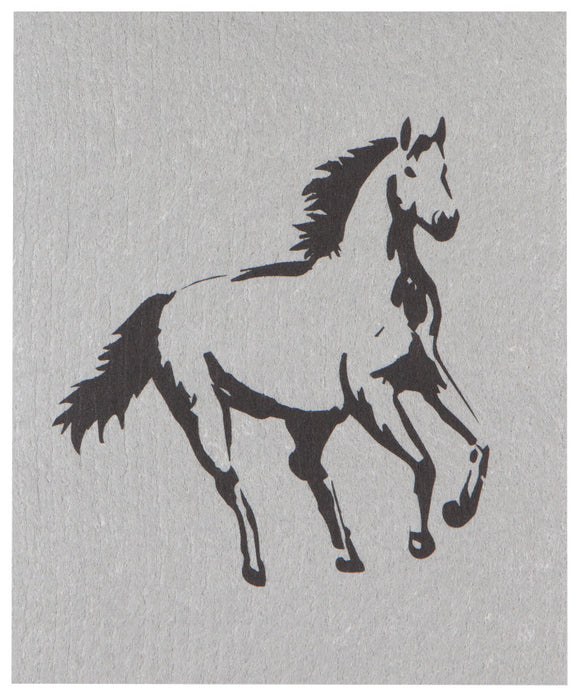 Horse Swedish Dish Cloth