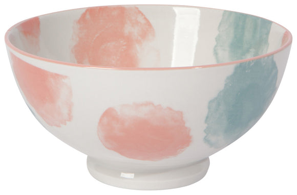Dotted Watercolor Bowls