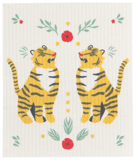 Tiger Swedish Dish Cloth