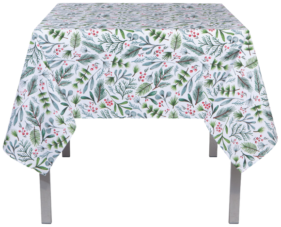 White Berries Tablecloth