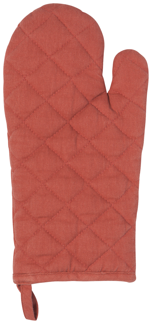 Red Heirloom Oven Mitt