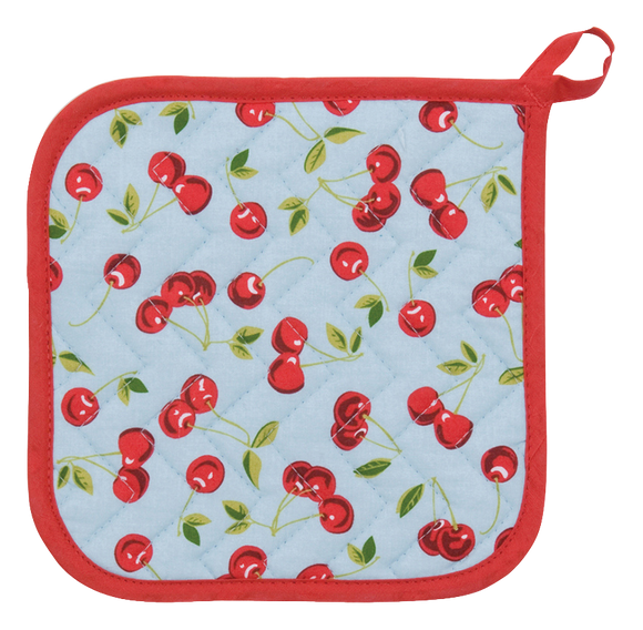 Cherry Potholder