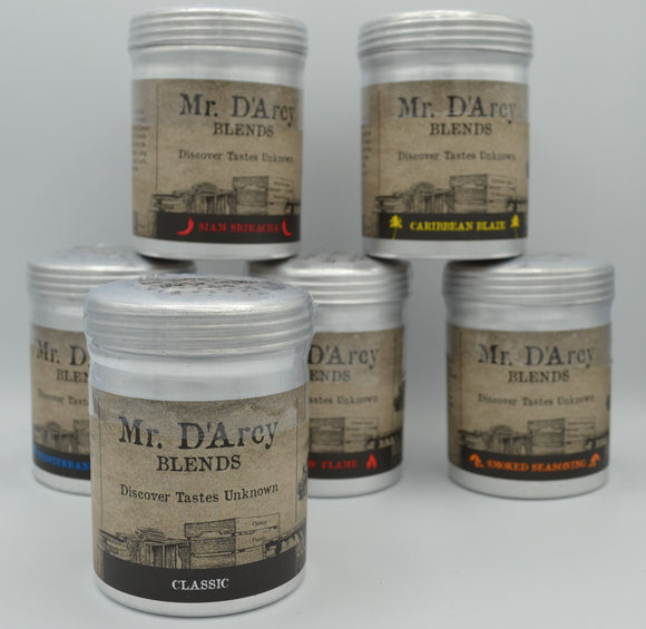 Mr. D'Arcy Blends