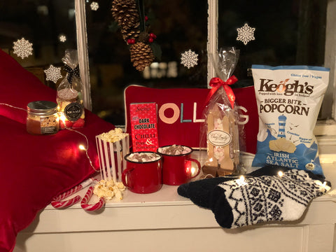 Cosy Christmas Eve Movie Night Box for two