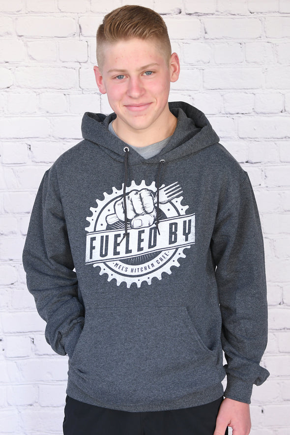 """Fueled by Mel's Kitchen Cafe"" Hoodie - Adult"