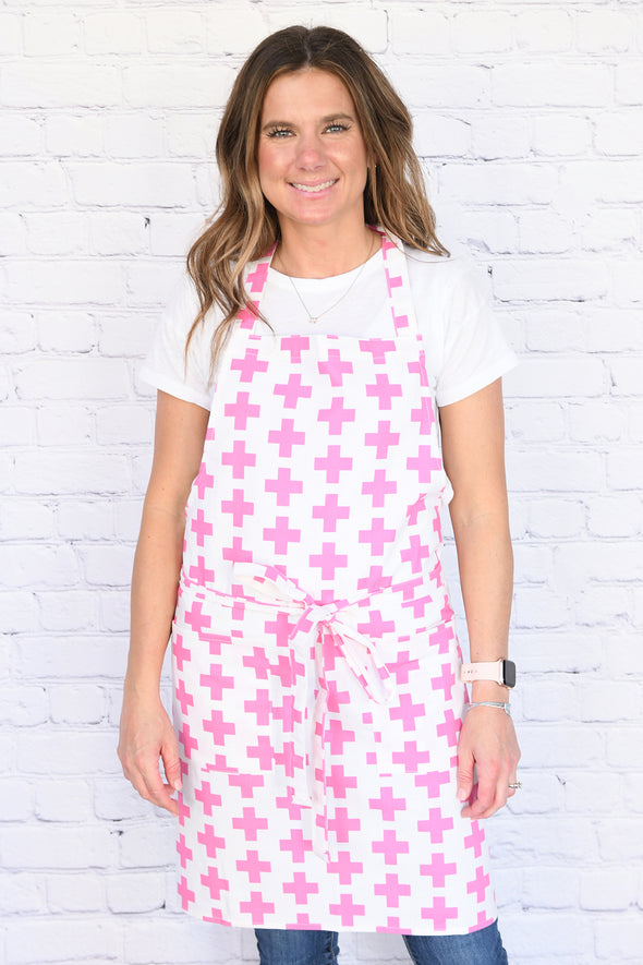 Pretty in Pink Apron
