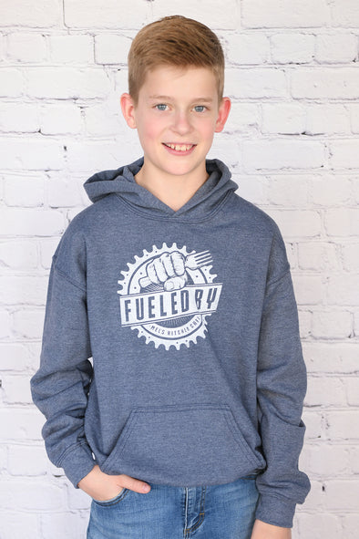 """Fueled by Mel's Kitchen Cafe"" Hoodie - Youth"