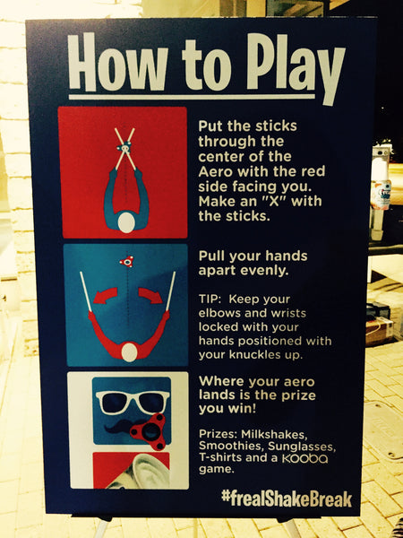 How to play giant KOOBA instructions.