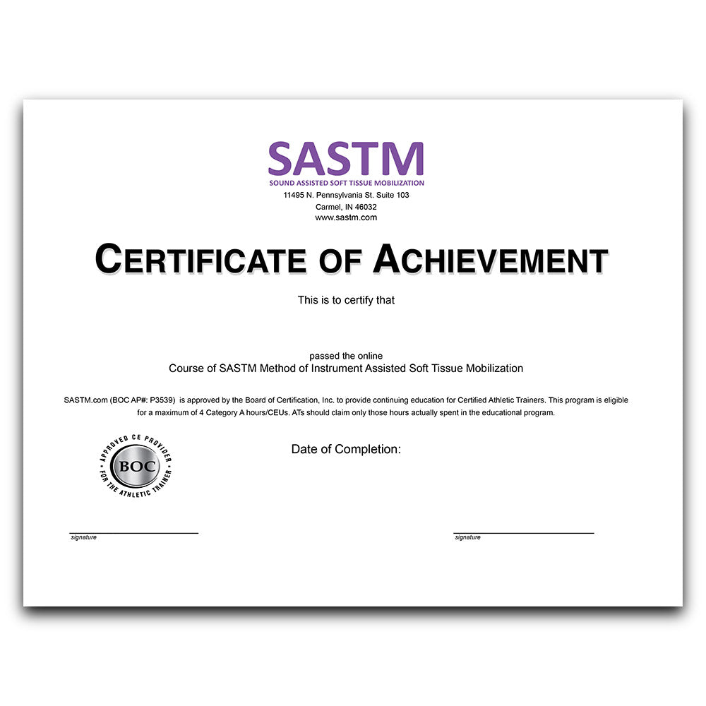 Individual Online Certification