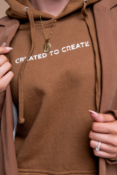 Created to Create - Brown - Stained Glass Apparel