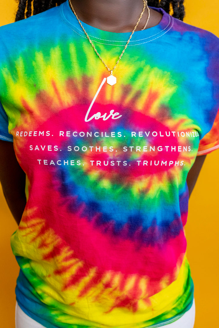 Love Definition Tie-Dye - Stained Glass Apparel